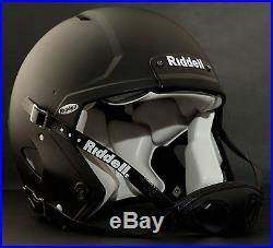 Riddell Revolution SPEED Classic Football Helmet (Color FLAT BLACK)