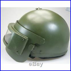 Russian Army Tactical Military Helmet With VISOR K6-3 Replica! NEW