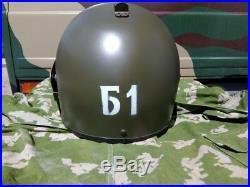 Russian MASKA 1 -SCH Replica Bulletproof OD Green Steel Visor R6 Tachanka Helmet