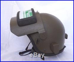 Russian MVD Helmet K 6-3 (ALTYN) with HEADSET(NEW) FSB. FREE EXPRESS SHIPMENT