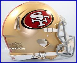 SAN FRANCISCO 49ERS Riddell Full-Size Speed Authentic Helmet