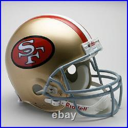SAN FRANCISCO 49ers 1991-1995 NFL Riddell FULL SIZE Replica Football Helmet