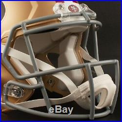 SAN FRANCISCO 49ers NFL Riddell SPEED Full Size Authentic Football Helmet