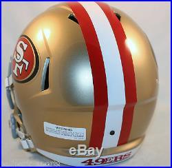 SAN FRANCISCO 49ers Riddell Full Size SPEED Replica Helmet