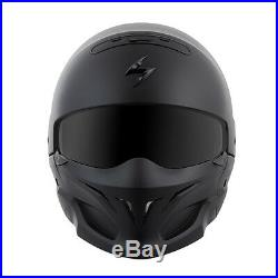 SCORPION COVERT HELMET MATTE BLACK White shark raw drak bell rogue dark DOT
