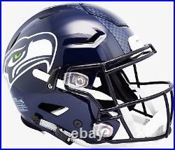 SEATTLE SEAHAWKS NFL Riddell SpeedFlex Full Size Authentic Football Helmet