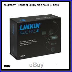SENA BLUETOOTH HEADSET LINKIN RIDE PAL III 3 Interkom f. LS2 FF399 Valiant