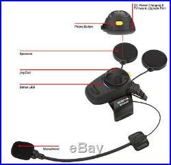 SENA SMH5 Bluetooth Headset/Intercom/FM Tuner for Motorcycle Helmet SMH5-FM-UNIV