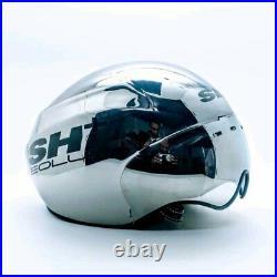 SH+ (ShPlus) Eolus TT Time Trial Track Cycling Helmet (was $500) Chrome. Giro