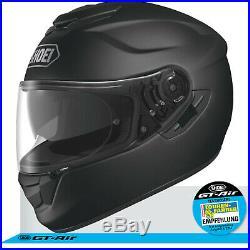 SHOEI Integralhelm GT AIR schwarz matt Motorradhelm Helm Sonnenblende Pinlock