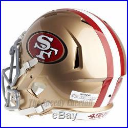 San Francisco 49ers Riddell Speed NFL Full Size Replica Football Helmet