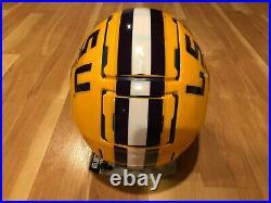 Schutt Full Sized Lsu Tigers Louisiana State F7 Va Tech Football Helmet Brnd New