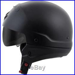 Scorpion Covert Convertible Motorcycle Helmet Matte Black Large