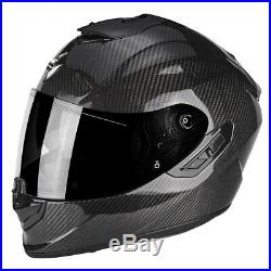 Scorpion EXO 1400 Carbon Air Motorcycle Motorbike Full Face Helmet All Sizes