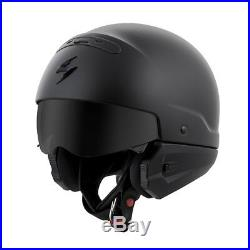 Scorpion EXO Covert 3 In 1 Street Helmet Solid Matte Black Adult All Sizes