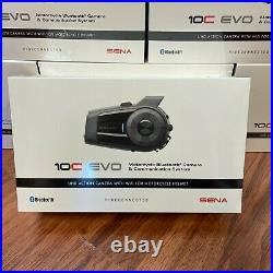 Sena 10C EVO Motorcycle Helmet Camera Bluetooth Intercom Headset 10C-EVO-01