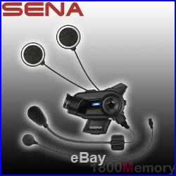 Sena 10C Pro Bluetooth Motorcycle Camera & Helmet Headset Intercom Communication