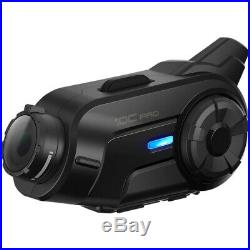 Sena 10C Pro Bluetooth Motorcycle Communication & Camera Helmet Kit Single