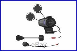 Sena 10S Bluetooth Motorcycle Communication Helmet Kit Universal Single