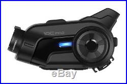 Sena 10c Pro Bluetooth Motorcycle Camera & Helmet Headset Intercom