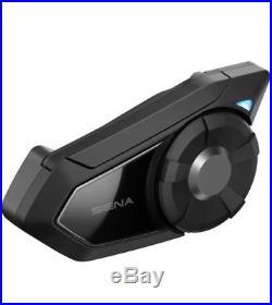 Sena 30K Dual Motorcycle Bluetooth Helmet Headset Communicator Mesh 30K-01D