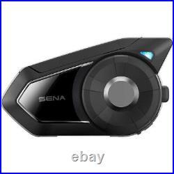 Sena 30K Dual Pack Bluetooth Mesh Motorcycle Helmet Headset Intercom Calls Music
