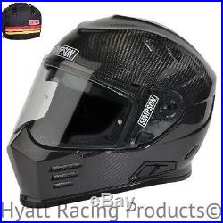 Simpson Ghost Bandit Carbon Fiber Motorcycle Helmet DOT All Sizes