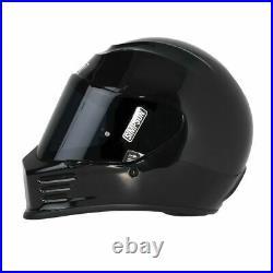 Simpson SPBM2 Speed Bandit Full Face Racing Helmet Size Medium Black