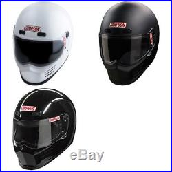 Simpson Street Bandit Helmet Motorcycle Helmet DOT Approved All Sizes Colors