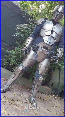 Sith Acolyte full armor with Helmet, ready for use. Star Wars