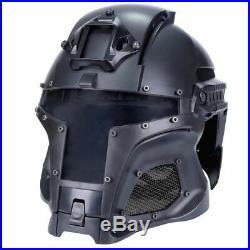Sports Tactical Helmet Military Ballistic Side Rail NVG ABS Shroud Transfer Base