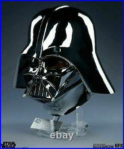 Star Wars 40th Anniversary EFX Darth Vader Chrome Helmet ARTIST PROOF RARE
