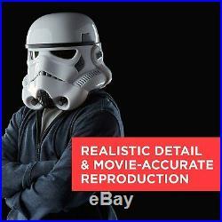 Star Wars B7097AC1 The Black Series Stormtrooper Electronic Voice Changer Helmet