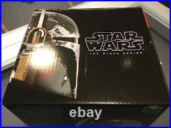 Star Wars Black Series Boba Fett Helmet- Brand New Case Fresh