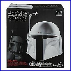 Star Wars Black Series Boba Fett Prototype Mandalorian Armor Electronic Helmet