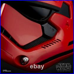 Star Wars Black Series Captain Cardinal Electronic Helmet Disney Galaxy's Edge