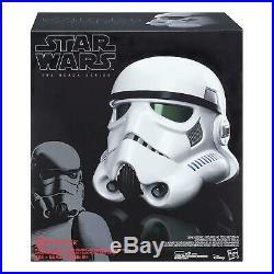 Star Wars Black Series Imperial Stormtrooper Electronic Voice Changer Helmet