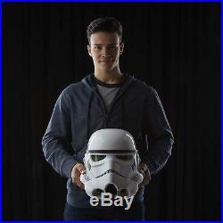 Star Wars Black Series Imperial Stormtrooper Electronic Voice Changer Helmet NEW