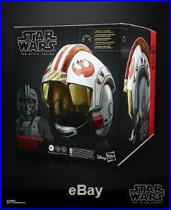 Star Wars Black Series Luke Skywalker Electronic X-Wing Pilot Helmet IN STOCK