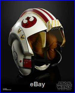 Star Wars Black Series Luke Skywalker X-Wing Legacy Electronic Pilot Helmet
