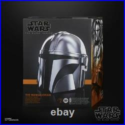 Star Wars Black Series Mandalorian Premium Electronic Helmet Prop Replica Hasbro