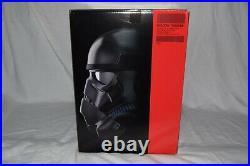Star Wars Black Series Shadow Trooper Voice Changer Helmet New! Limited! WowZa