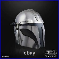Star Wars Black Series The Mandalorian Premium Electronic Helmet BRAND NEW