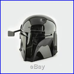 Star Wars Boba Fett Mandalorian Durable Plastic Made Helmet (Black Edition)