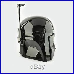 Star Wars Boba Fett Mandalorian Helmet (Black Edition)