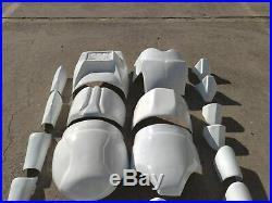 Star Wars Clone Trooper Costume Armor Life Size Movie Helmet Prop Armour