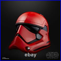 Star Wars Galaxys Edge Captain Cardinal Black Series Electronic Helmet