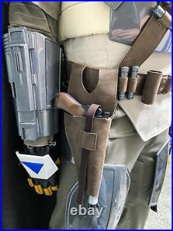 Star Wars Mandalorian Beskar Cosplay Suit