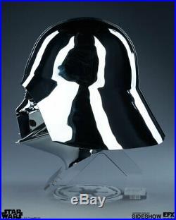Star Wars SDCC 11 Sideshow EFX DARTH VADER CHROME HELMET Master Replicas Anovos