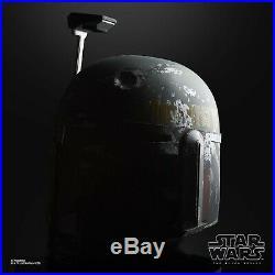 Star Wars The Black Series Boba Fett 11 Electronic Helmet PRE-ORDER